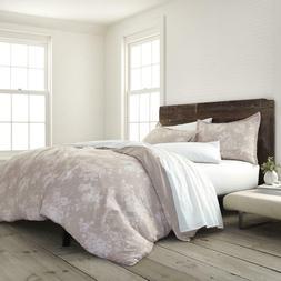 Sienna Color Floral 3 Piece Comforter Set 100% Certified Org