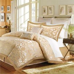 Madison Park Signature Castello 8 Piece Comforter Set Gold K