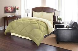 Silky Soft - Goose Down Alternative Reversible Comforter Set