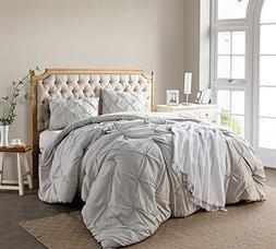 Silver Birch Pin Tuck Twin XL Comforter