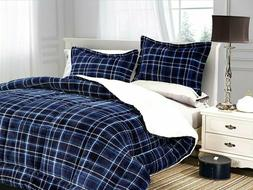Elegant Comfort Softest, Coziest Heavy Weight Plaid Pattern