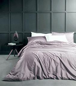 Eikei Solid Color Egyptian Cotton Duvet Cover Luxury Bedding