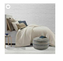 Solid Jersey FULL/QUEEN Comforter Set in Oatmeal