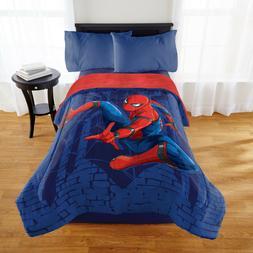 Marvel Spider-man Twin/Full Comforter Full Sherpa Reverse Br
