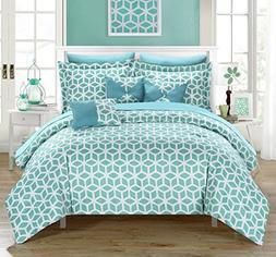 Chic Home Stefanie 10 Piece Comforter Set Reversible Bed in