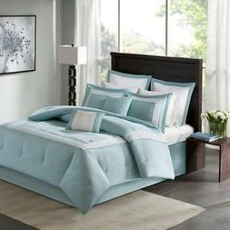 Madison Park Stratford Queen Size Bed Comforter Set Bed In A