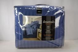 Damask Stripe, Twin Reversible Comforter Set, 500 Thread Cou