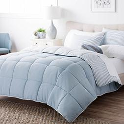 Brookside Striped Chambray Comforter Set - Includes 1 Pillow