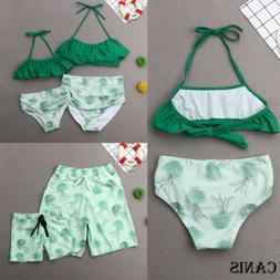 Summer Family Parent-child Swimsuit Comfort Set Bikini Beach