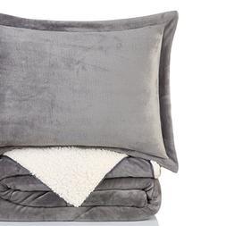 California Design Den Super Soft Cozy Reversible 3 Piece Qui