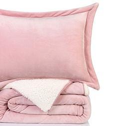 California Design Den Super Soft Cozy Sherpa Flannel Alterna