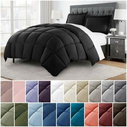 Chezmoi Collection 3-Piece Down Alternative Comforter Set Al