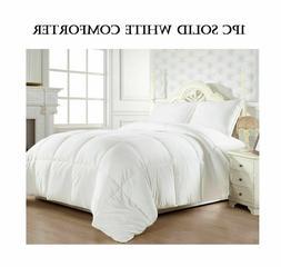 Elegant Comfort Super Soft Goose Down Alternative Reversible