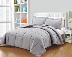 Super Soft Quilt Goose Down Comforter 300 GSM 600 Thread Cou