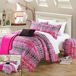 Chic Home 10-Piece Techno Comforter Set with Shams Decorativ