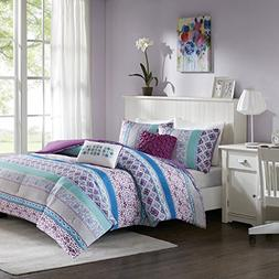 Teen Bedding For Girls Comforter Set Full Queen Twin Purple