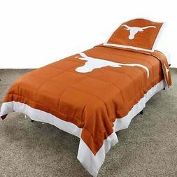 Texas Longhorns Comforter Set Multi Queen