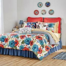 The Pioneer Woman Dazzling Dahlias Bed in a Bag 7 Piece Set-