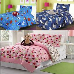 Twin Comforter Blanket Set Super Soft Plush Winter Warm Cobi