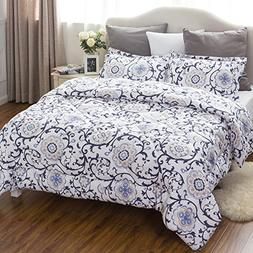 Twin Comforter Set Classics Traditional European Roll Grass