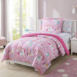 Twin Size Kids Bedding Set Teens Girl Child Bed Comforter Sh
