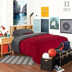 Twin XL Dorm Bedding Set - 5 Piece Bed In A Bag Comforter Se