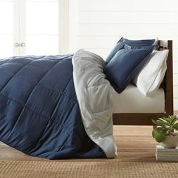 ultra soft down alternative reversible comforter set