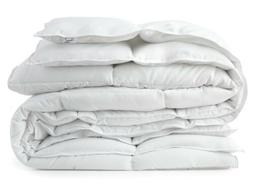 Light Warmth Down Alternative Comforter White All Season Duv
