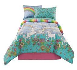 Kidz Mix Unicorn Bed in a Bag, Full, Multi