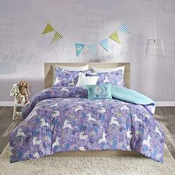 Unicorn Bedding Set For Girls Teen Full Queen Horse Comforte