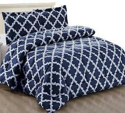 Utopia Bedding Printed Comforter Set with 2 Pillow Shams