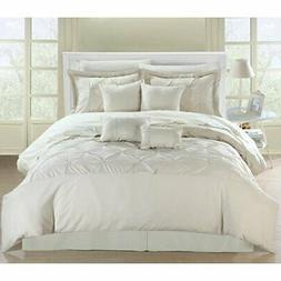 Chic Home Vermont / 8 Pc Comforter Set, King, Beige