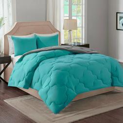 vixie reversible down alternative comforter
