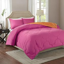 Comfort Spaces Vixie Reversible Goose Down Alternative Comfo