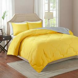 Comfort Spaces Vixie Reversible Down Alternative Comforter S