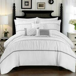 Wanda 10 Piece Bed in a Bag Comforter Set by Chic Home