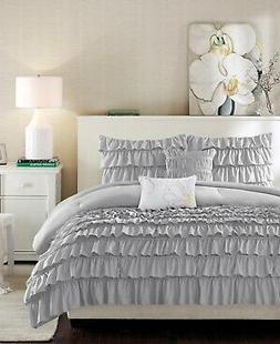 Intelligent Design Waterfall Comforter Set Full/Queen Size -