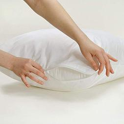 waterproof pillow protectors zippered encasement