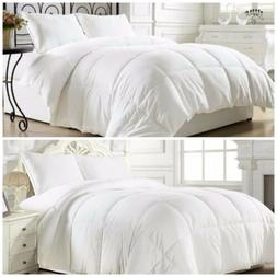White Down Alternative Comforter   Medium or Extra Warmth