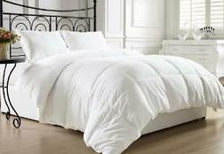 White Down Alternative Comforter Duvet Insert 100-percent Hy