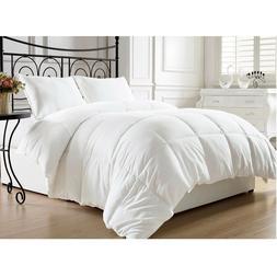 White Goose Down Alternative Comforter Luxury King Size Hote