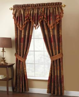 "Croscill Window Treatments, Galleria 82"" x 84"" Pole Top Pane"