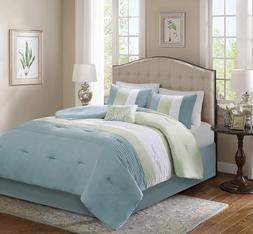 Comfort Spaces – Windsor Comforter Set- 5 Piece – Light