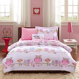 Mi-Zone Kids Wise Wendy Queen Comforter Sets for Girls - Pin