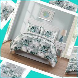 VCNY Home World Traveler Map Bedding Comforter Set