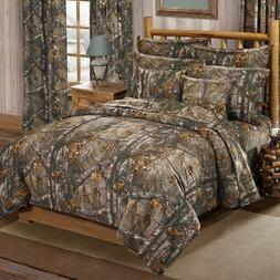 Xtra Camouflage Bedding Set Realtree Camo Comforter Bed Sham